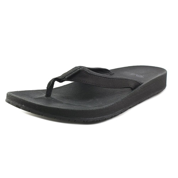 Teva Azure Flip Black Sandals