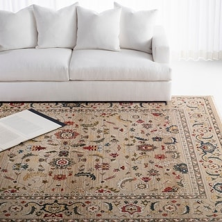 Lauren Ralph Lauren Tristan Traditional Oriental Rug with Fringe