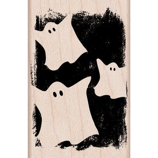 "Hero Arts Mounted Rubber Stamp 2""X2""-Ghostly Pattern"