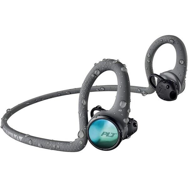 Plantronics BackBeat FIT 2100 Wireless Sport Headphones - Grey. Opens flyout.