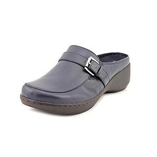 Easy Spirit Dorlisa Navy Leather Sandal Women