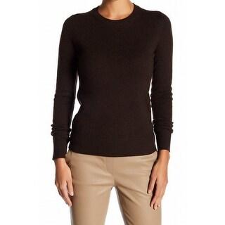 Theory NEW Black Women's Size Large L Crewneck Cashmere Sweater