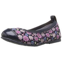 pediped Kids' Angie Ballet Flat - 29 EU/12-12.5 E US Little Kid