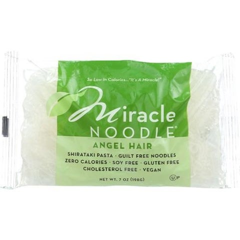 Miracle Noodle - Angel Hair Noodless ( 6 - 7 OZ)
