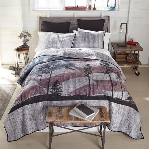 Donna Sharp Free Bird Cotton Quilt Set