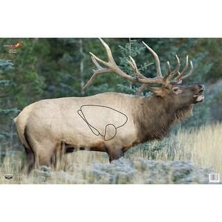 Birchwood casey 37485 b/c target eze-scorer 23x35 elk 2 targets