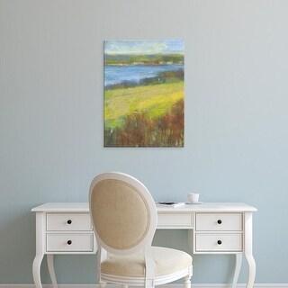 Easy Art Prints H. Thomas's 'Mountain View I' Premium Canvas Art