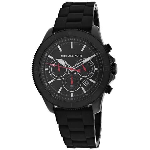 Michael Kors Men's Black Dial Watch - MK8667 - One Size
