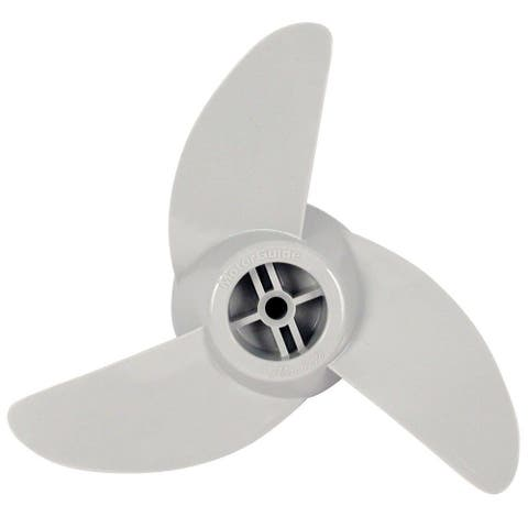 MotorGuide MGA089W Machete III Great White Glass Filled 3 Blade Propeller New - Multicolor