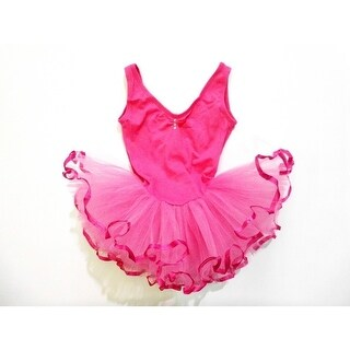 Hot Rhinestone Sleeveless Tutu Ballet Dress Girl S-XL