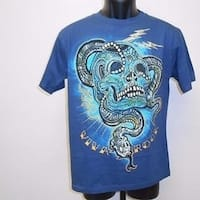 """Viva Rock"" Graphic Tee Youth L Large Size 14-16 T-Shirt 67Hs"