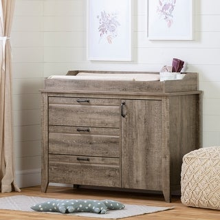 South Shore Lionel Changing Table with Drawers