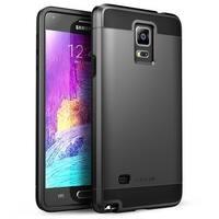i-Blason Samsung Galaxy Note 4 Case - Unity Series Armored Hybrid TPU plus PC Case - Black