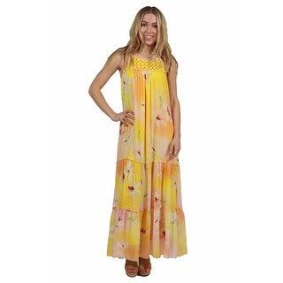 24seven Comfort Apparel Seraphina Maxi Dress