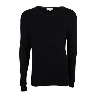 Calvin Klein Men's Cotton Modal V-Neck Sweater