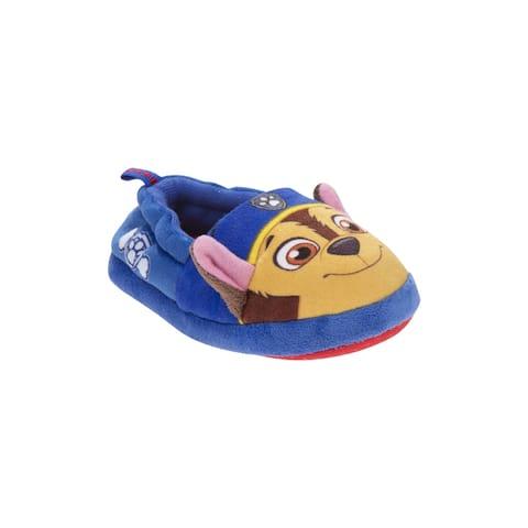 Nickelodeon Blue Paw Patrol Plush Slippers Boys