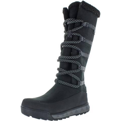 Pendleton Womens Rockchuck Range Snow Boots Leather Waterproof - Black