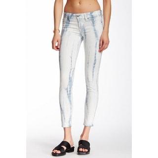 Fidelity NEW Women's Size 26X29 Printed Capri Slim Skinny Jeans