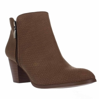 SC35 Jamila Dress Ankle Booties, Saddle