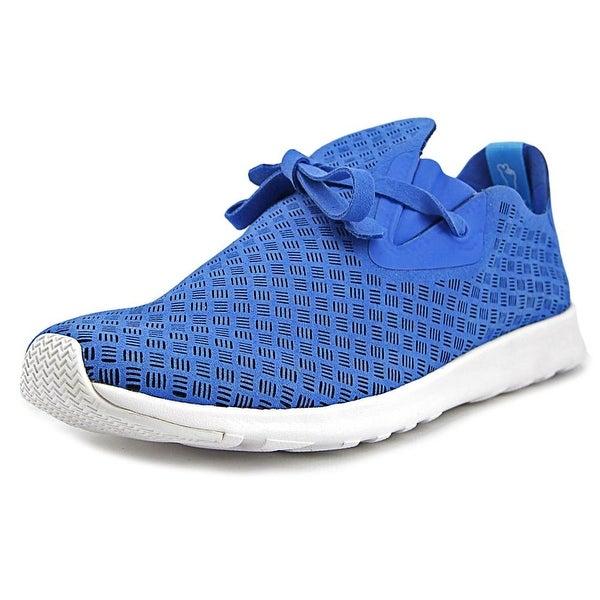 Native Apollo Moc Women Barracuda Blue/Shell White/Stripes Sneakers Shoes