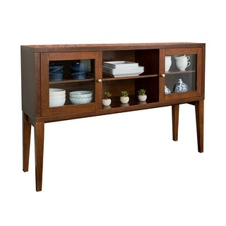 """Offex 52"""" Hepworth Wood Buffet with Tapered Legs - Walnut"""