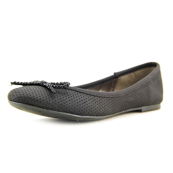 Material Girl Farro Round Toe Synthetic Ballet Flats