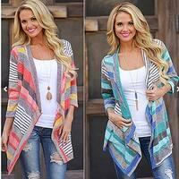 Women's Autumn Cardigan Irregular Sweater Outwear
