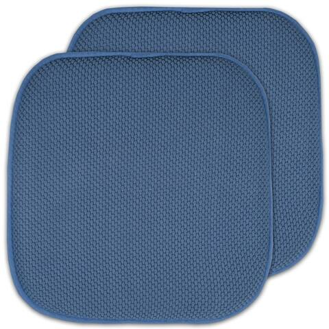 16x16 Memory Foam Non-slip Chair Pad Seat Cushion Sets - 16 X 16