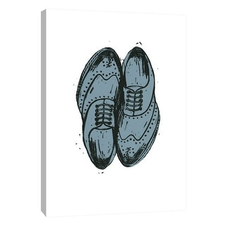 """PTM Images 9-105405  PTM Canvas Collection 10"""" x 8"""" - """"Shoes 1"""" Giclee Fashion Art Print on Canvas"""