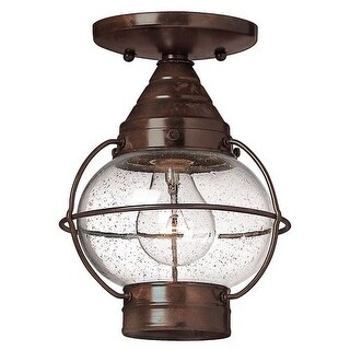 Hinkley Lighting H2203 1 Light Outdoor Flush Mount Ceiling Fixture from the Cape Cod Collection