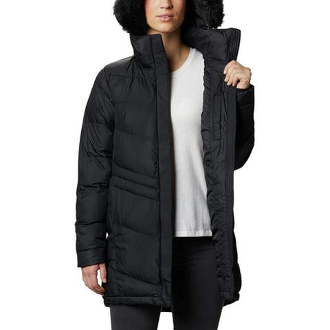 Columbia Women's Peak to Park Mid Insulated Jacket, Black, X-Large