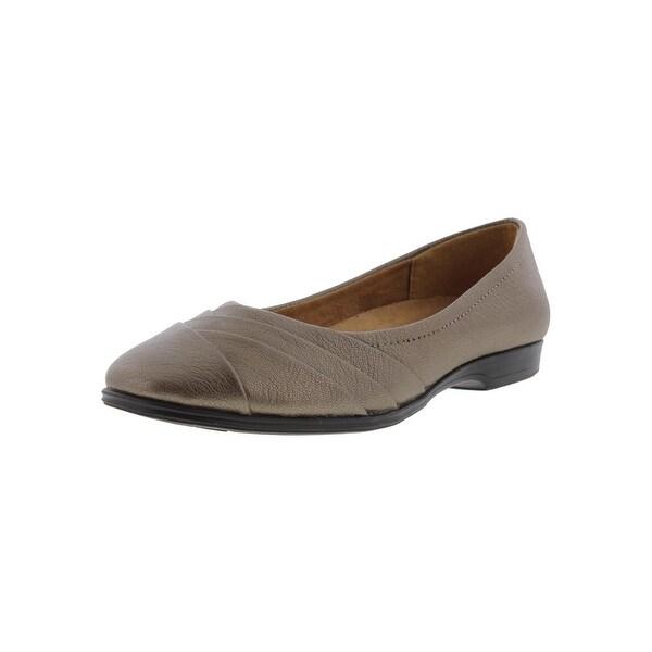 Naturalizer Womens Jaye Ballet Flats Leather Slip On
