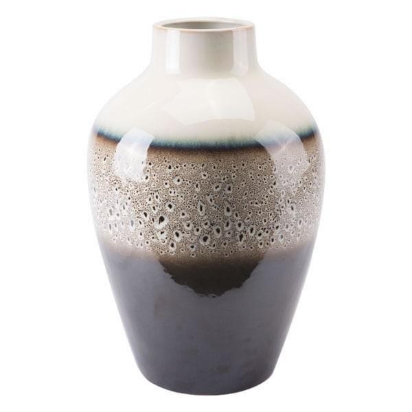 Dripped Vase Multicolor Ceramic