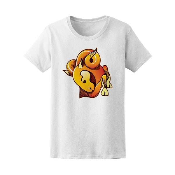 Shop Aries Symbol Ram Graphic Tee Womens Image By Shutterstock