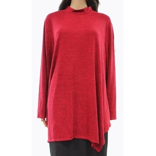 Style & Co. NEW Red Amore Women's 3X Plus Mock-Neck Hankerchief Top|https://ak1.ostkcdn.com/images/products/is/images/direct/dd8a3c98cce8211971eca9edb4aacd7a2f5fca61/Style-%26-Co.-NEW-Red-Amore-Women%27s-3X-Plus-Mock-Neck-Hankerchief-Top.jpg?impolicy=medium