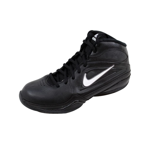 bbe41e57b770 Shop Nike Grade-School AV Pro 3 Black White-Metallic Dark Grey ...