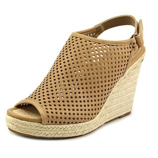 Madeline Girl Minimal Open Toe Synthetic Wedge Heel