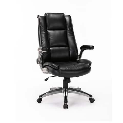 Moda 91286-B Office Chair High Back Leather Executive Computer Chair