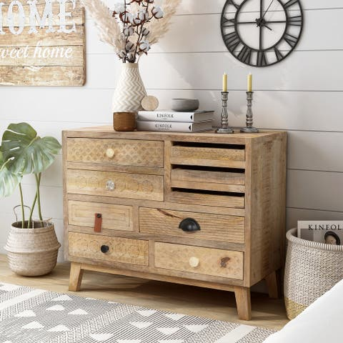 Furniture of America Carina Solid Wood Dresser