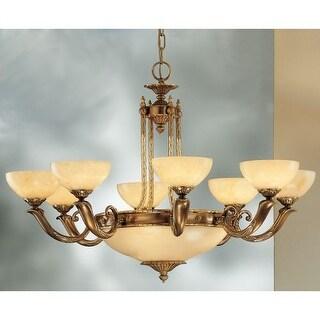 "Classic Lighting 5669 Valencia 12 Light 37"" Wide Single Tier Chandelier"