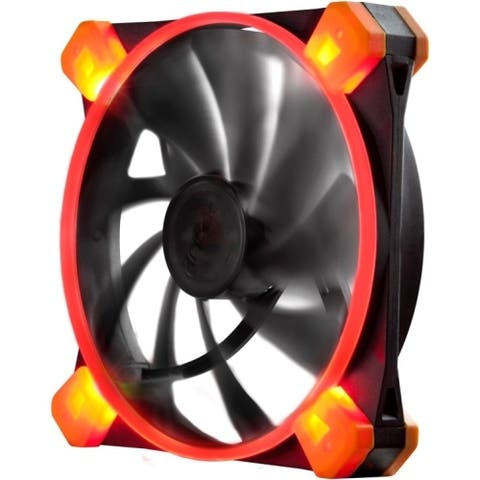 Antec TRUE QUIET 120UFORED Antec TrueQuiet 120 UFO (Red) Cooling Fan - 1 x 120 mm - 1000 rpm - Rubber, Silicon - Retail