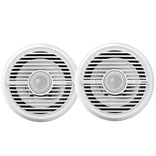 "Clarion Cmg1622R 6.5"" Water Resistant Coax Speakers 100W"