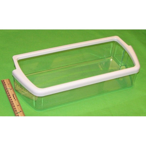 NEW OEM Maytag Refrigerator Door Bin Basket Shelf Originally Shipped With 8MSF25N4BW02, ASD2522WRB02, ASD2522WRD02