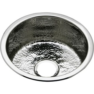 """Elkay SCF16FB The Mystic 16-3/8"""" Single Basin 18-Gauge Stainless Steel Kitchen Sink for Drop In or Undermount Installations with"""