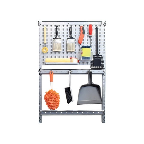 Accessory Wall Mount Peg Board Garage Storage AllSpace Vertical Standard
