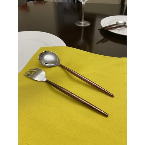 Stainless Steel Dinner Forks and Dinner Spoons Set of 12 Pieces