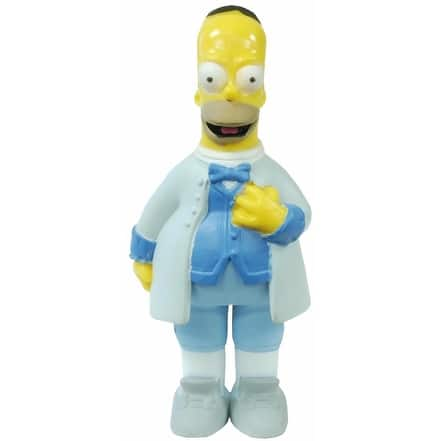 Simpsons 20th Anniversary Figure Seasons 16-20 Opera Singer Homer - multi