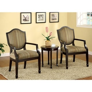 Link to Furniture of America Itla Transitional 3-piece Table Set with 2 Chairs Similar Items in Accent Chairs