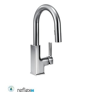 Moen S62308 Single Handle Pullout Spray Bar Faucet with Reflex Technology from the STo Collection