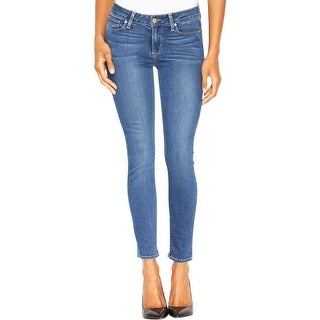 Paige Womens Verdugo Ankle Jeans Whisker Wash Faded